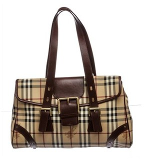 Burberry Pre Owned - BROWN BEIGE RED - STYLE