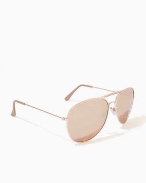 Charming charlie Haven Mirrored Aviator Sunglasses
