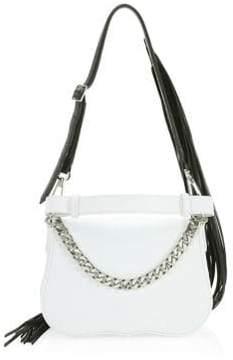 Calvin Klein Small Shoulder Fringe Bag