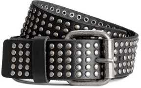 H&M Studded Leather Belt