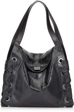 Jimmy Choo RION Black Elaphe Tote Bag