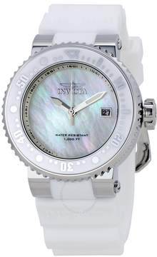 Invicta Pro Diver Mother of Pearl Dial Unisex Watch