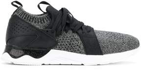 Asics knitted lace-up sneakers