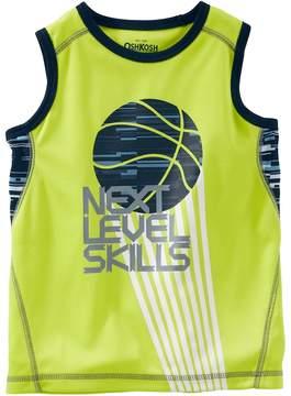 Osh Kosh Boys 4-12 Next Level Skills Basketball Tank Top