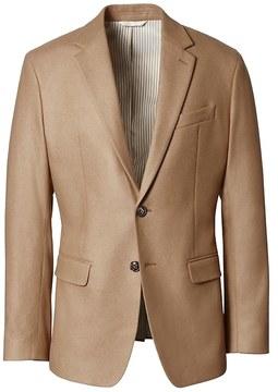 Banana Republic Heritage Slim Camel Wool Suit Jacket