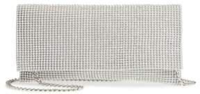 Nina Jazalyn Crystal Mesh Clutch