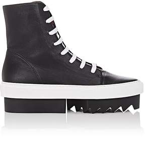 Givenchy Women's Leather Platform Sneaker Boots