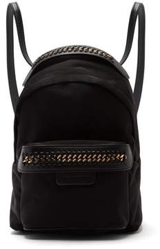 Stella McCartney Falabella Go Mini Nylon Backpack - Womens - Black