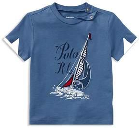 Ralph Lauren Boys' Sailboat Graphic Tee - Baby