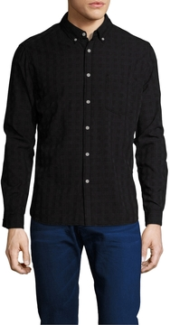 Life After Denim Men's Cotton Gunnar Slim Fit Sportshirt
