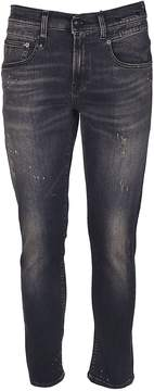R 13 Distressed Jeans