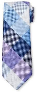 Merona Men's Blue Diamond Print NeckTie Blue