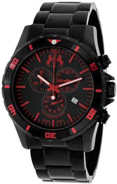 Jivago Mens Black Bracelet Watch-Jv6126