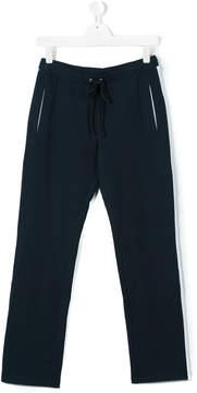 Roberto Cavalli teen side stripe track trousers