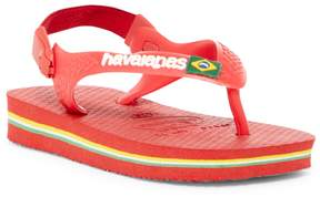 Havaianas Brazil Logo Sandal (Baby & Toddler)