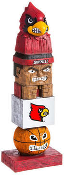 Evergreen Louisville Cardinals Tiki Totem