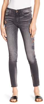 Driftwood Jackie Embroidered Skinny Jeans