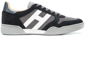 Hogan panelled sporty sneakers