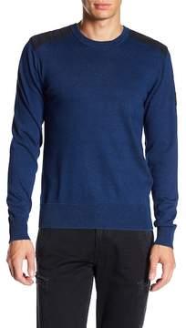 Belstaff Kilnwood Crewneck Faded Sweater