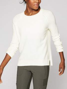 Athleta Wool Cashmere Textured Sweater