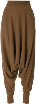 Agnona high waist harem pants