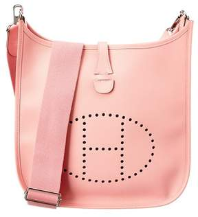 Hermes Pink Epsom Leather Evelyne Iii Pm. - PINK MULTI - STYLE