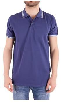Peuterey Men's Purple Cotton Polo Shirt.