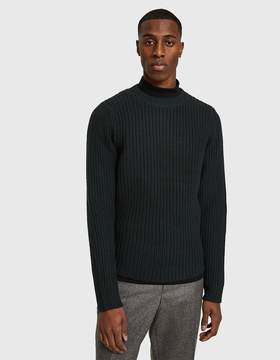 A.P.C. Berger Sweater in Military Khaki