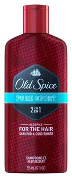 Old Spice Pure Sport 2-in-1 Shampoo and Conditioner - 12 fl oz