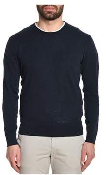 Altea Men's Blue Cotton Jumper.