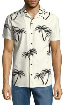 Jack and Jones Jorisland Short-Sleeve Button-Down Shirt