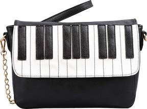 Mellow World Keyboard Piano Crossbody Clutch