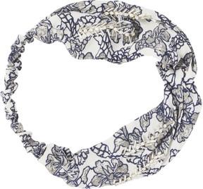 Scunci Headbands of Hope Multi Blue Floral Print Headwrap
