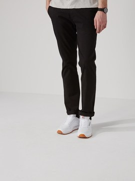 Frank and Oak The Newport Chino in True Black