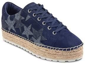 Marc Fisher Women's Maevel Suede Platform Espadrille Sneakers