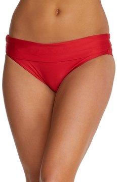 Luxe by Lisa Vogel Premiere Solid Banded Bikini Bottom 7537983