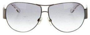Chanel CC Aviator Sunglasses