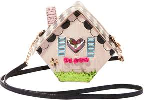 Betsey Johnson KITSCH HOME TWEET HOME CROSSBODY