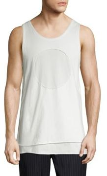 3.1 Phillip Lim Tiered Cotton Tank Top
