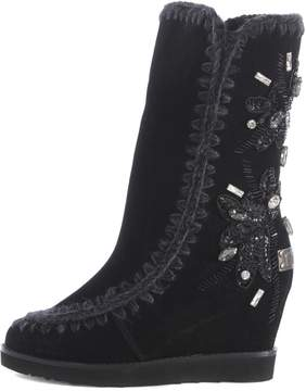 Mou Eskimo Embroidered Boots