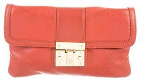 Tory Burch Envelope Convertible Clutch - ORANGE - STYLE