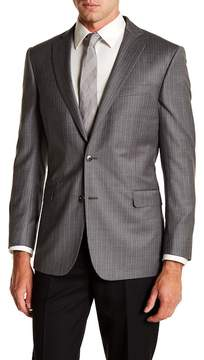 Brooks Brothers Notch Collar Stripe Regent Fit Jacket