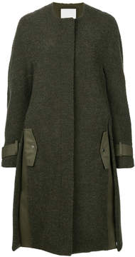 Dion Lee boucle coat