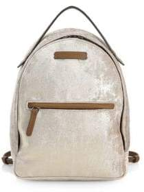 Brunello Cucinelli Distressed Leather Backpack