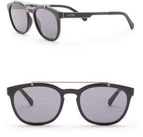 GUESS 52mm Square Sunglasses