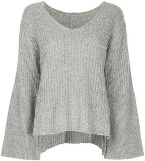 CITYSHOP deep V-neck jumper