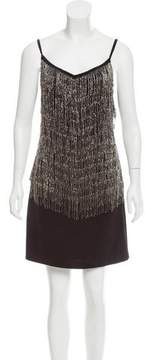 Laundry by Shelli Segal Embellished Mini Dress w/ Tags