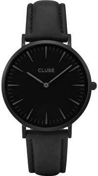 Cluse CL18501 La Bohème Full Black leather watch