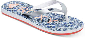 Roxy Tahiti V Flip-Flop Sandals, Little Girls (11-3) & Big Girls (3.5-7)