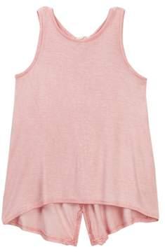 Jessica Simpson Crochet Tassel Top (Little Girls)